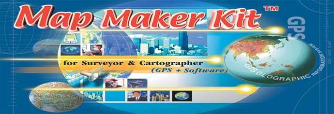 bangkok guide map maker kit for surveyor cartographer
